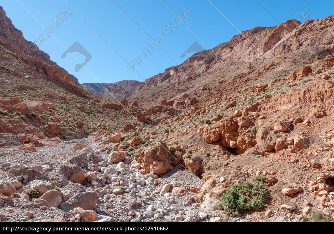 dades, schlucht, im, atlas, gebirge, marokko, afrika - 12910662