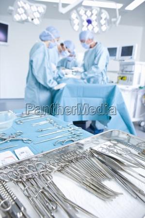 die konzentration chirurgen betrieb mit chirurgischen