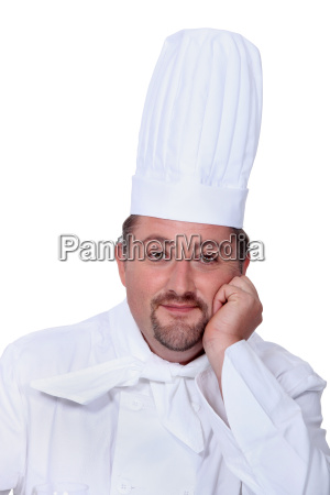 portrait of a man in chefs