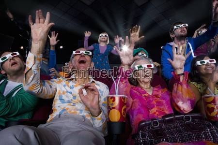 film publikum in 3d brille wodurch