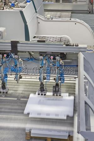 maschinenbau aluminium leuchten in der fabrik