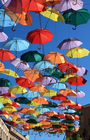 fahrt reisen kunst farbe spanien regenschirm
