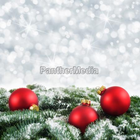 weihnachtlicher bokeh background