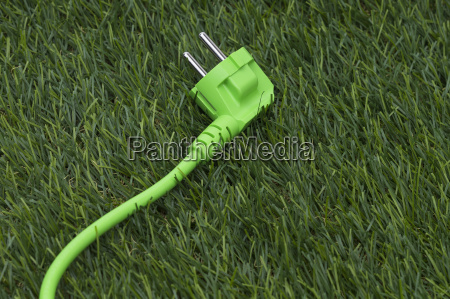 lawn and green power cable