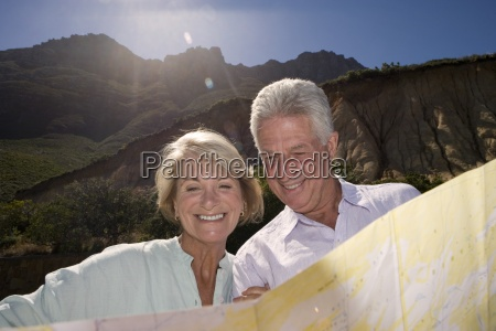 south africa cape town mature couple