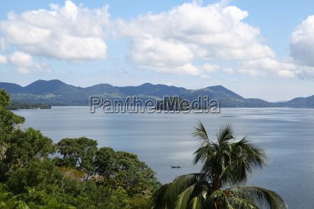 Mexiko, See, Gewässer, Himmel, Wolken, Urlaub - 12968816