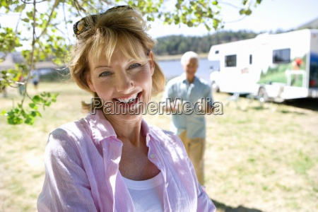 mature woman by husband and motor
