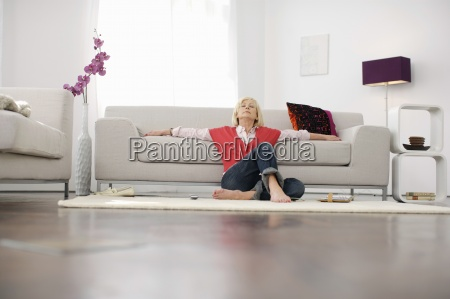 entspannung modern moderne horizontal vorderansicht couch