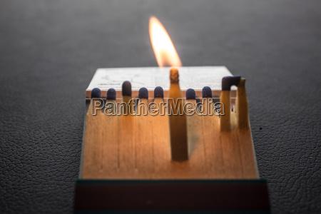 streichholzbriefchen