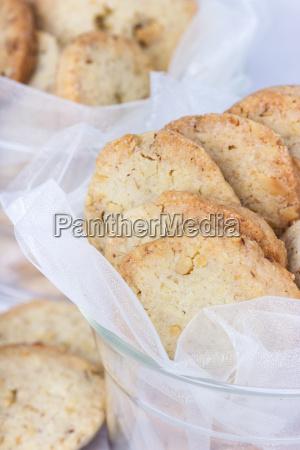 cookies biscuits bake food sugar nut