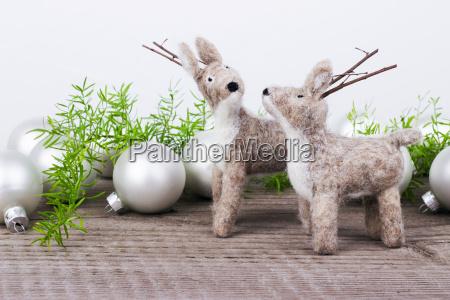 tiere weihnachtszeit kinderspielzeug spielsachen filz christmas