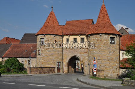 westtor von prichsenstadt