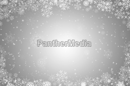 weihnachtlicher hintergrund mit schneeflocken