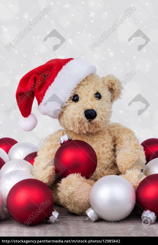 tiere, teddybär, weihnachtszeit, kinderspielzeug, spielsachen, christmas - 12985842