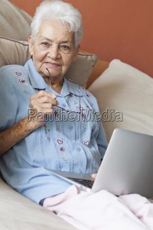 woman laptop notebook computers computer laugh