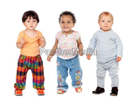 drei lustige kinder