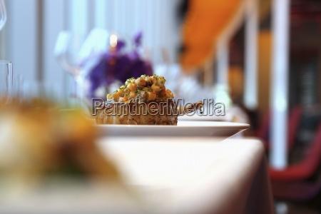 restaurant stilleben praesentation moderation farbe eleganz
