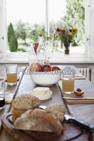 stilleben essen nahrungsmittel lebensmittel nahrung brot