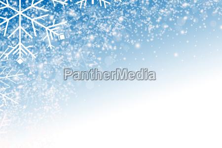 abstrakter hintergrund mit schneeflocken