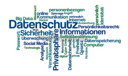 word cloud datenschutz