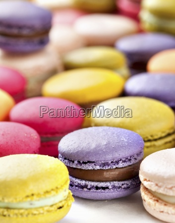 baked goods baked products blurred background