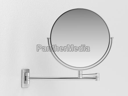 silber kosmetikspiegel