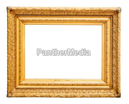 praechtiger goldener bilderrahmen