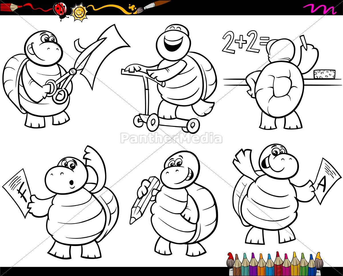malvorlagen schildkröte schule  coloring and malvorlagan