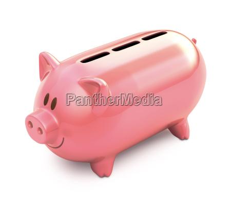 piggy bank three hole