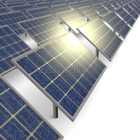 solarpanel farm
