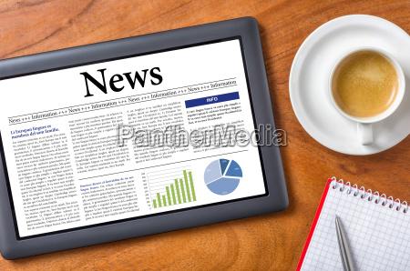 tablet desk news