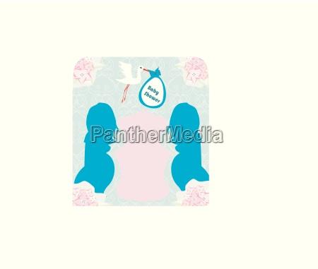 baby dusche einladung template baby boy