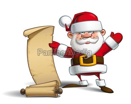 happy santa gift list