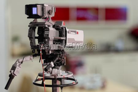 tv studio kamera