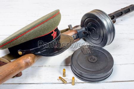 ausruestung der sowjetischen soldaten im zweiten
