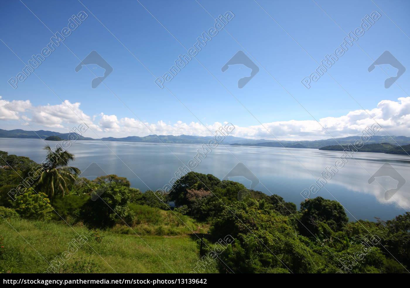 Mexiko, See, Gewässer, Himmel, Wolken, Panorama - 13139642