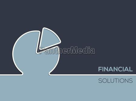 finanzloesungen werbung hintergrund