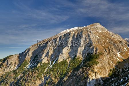 nationalpark berchtesgaden hohes brett berchtesgaden berge