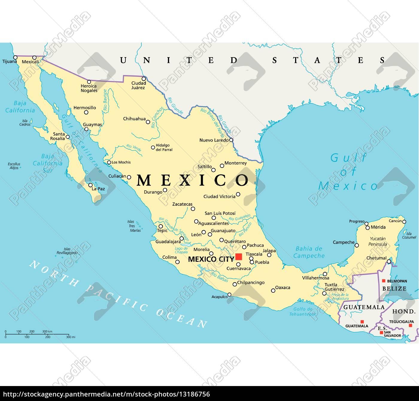 mexiko karte Mexiko Karte Cancun | Kleve Landkarte