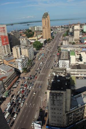 kinshasa dr kongo afrika afrikanische metropole