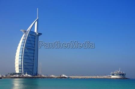 burj al arab mit strand