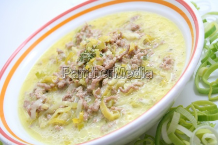 kaese lauch suppe
