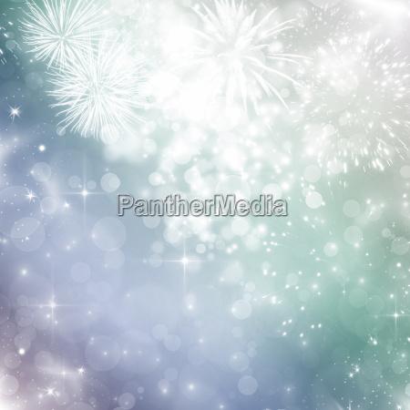 zusammenfassung, urlaub, hintergrund, mit, feuerwerk - 13228618
