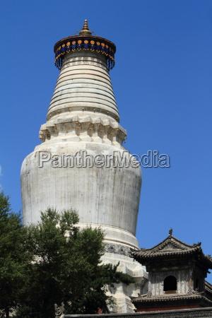 die grosse stupa von wutai shan