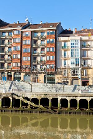 bilbao basque country spain cityscape