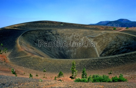 amerika usa kalifornien lassen vulcanic lassen