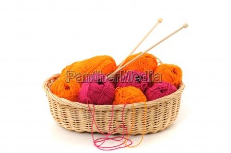 wool basket wool basket