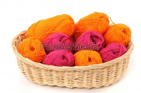 wollkorb wool basket