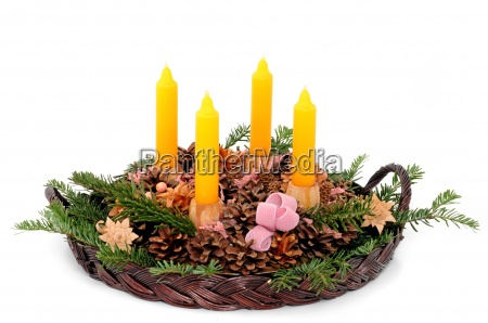 adventskranz advent wreath
