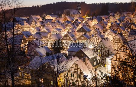 winter in freudenberg